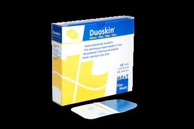 Duoskin bleu, film dermique imperméable à l'eau (10x6cm)